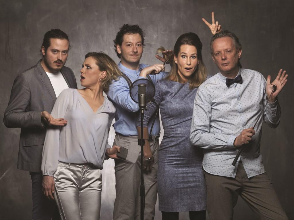 Andermans Veren Live! is een muzikaal cabaretgezelschap dat het Nederlandstalige theaterlied in levend houdt.(Foto: Govert de Roos)