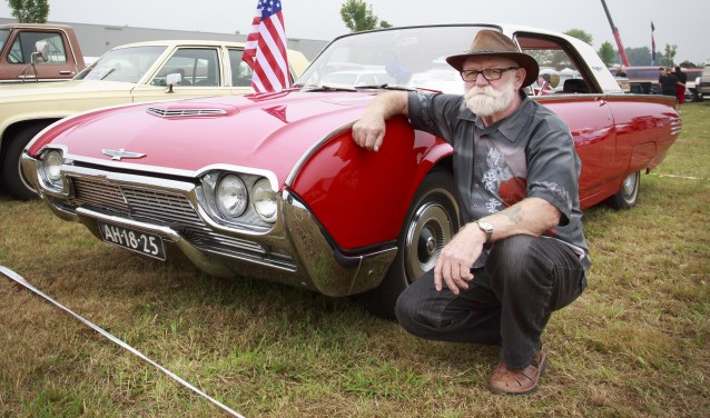 Tijdens American Tukkerday draait het om auto's, motoren, trucks en muziek. Foto: Rikkert Harink/Tubantia