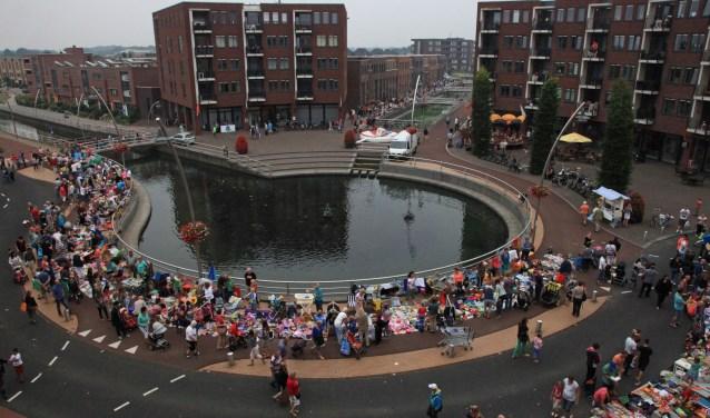 Het Triasplein is aanstaande zaterdag weer omgetoverd in een feestplein.