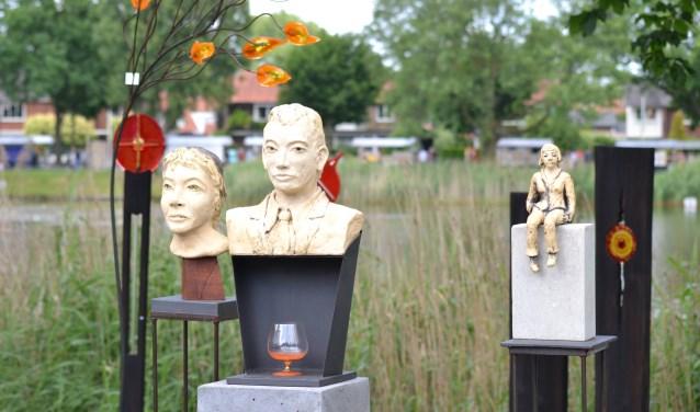 Kunst in het groen. Kunstliefhebbers kunnen volgende maand kunst in Beuningen bekijken. Er is een kunstroute.