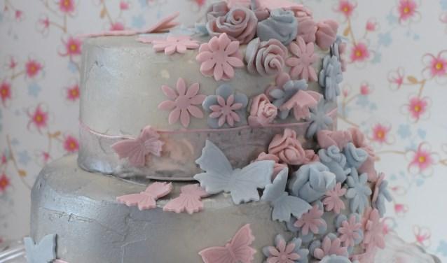 Een creatie van Anja. Aanmelden voor de bakwedstrijd kan via anjabout@gmail.com, in ByAnja, in het Huis van Alles, via tel. 06-54960000 of de Facebook-pagina van het Huis van Alles Driebruggen. Foto: Anja Bout