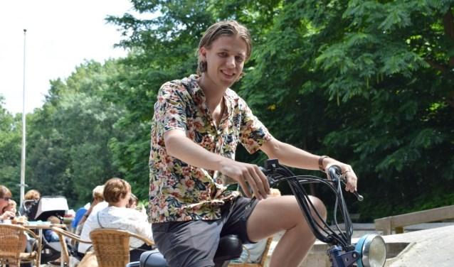 Bart 't Hart schreef 'Waar is mijn fiets'. Foto Indebuurt Delft.