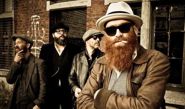 De band Small Time Crooks is een van de groepen die voor een muzikale noot zorgen tijdens Whisky & Music in Metropool op 15 september.