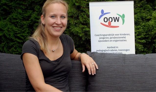 Wendy Coppelmans (29) wil haar ervaringen overbrengen op ouders, oma's en professionals. (Foto: Tom Oosthout)