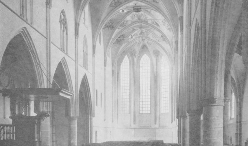 Interieur Broederenkerk Foto Stedelijke musea Zutphen.