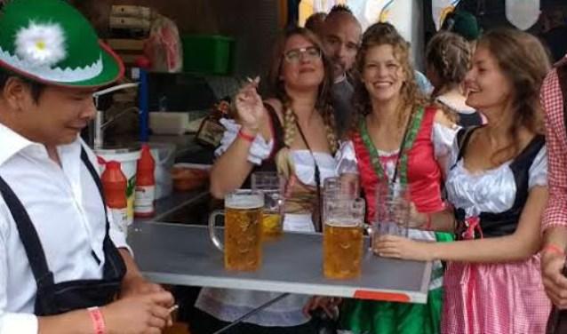 Op zaterdag is de Hazerswoudse Feestweek gezellig van start gegaan FOTO: Jos Timmermans