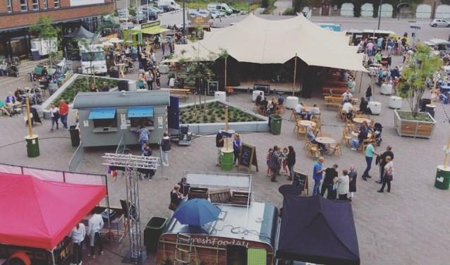 Op 1, 2 en 3 september vindt de tweede editie van het Pieckplein Foodtruck Festijn in Kaatsheuvel plaats.
