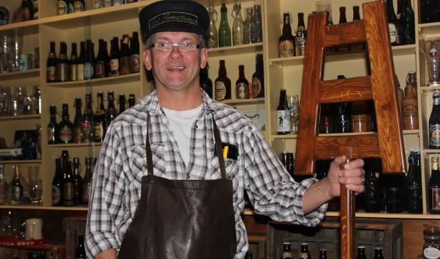 Naast (speciaal) bier b(r)ouwt Toon van der Heijden ook een speciale bierfamilie en wie zich wil aansluiten is hartstikke welkom op de Open Dag. Foto: Wendy van Lijssel