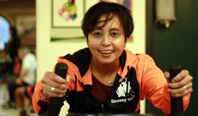 Beweegcoach Soraya Samuels helpt Hagenaars met een beperking sporten of sportief bewegen.