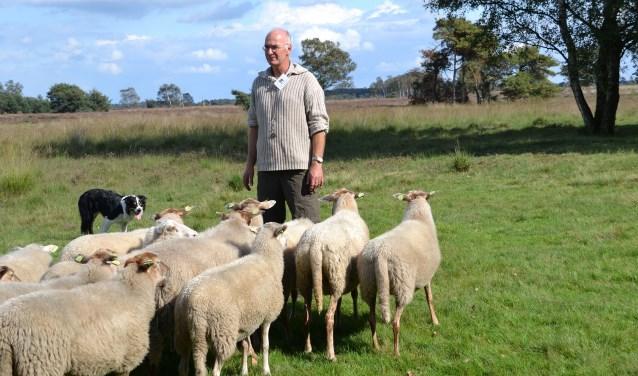 Natuurlijk hoort een herder en zijn hond bij een kudde schapen, zo ook op de Kempische Heide. Tijdens de Big Sheep Tour vertelt hij in alle dorpen over zijn werk.