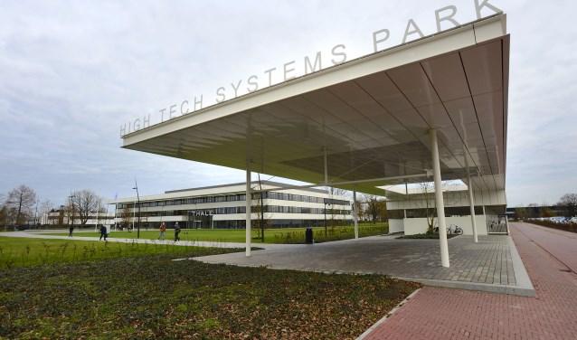 Tijdens de open bedrijven dag op Bedrijvenpark Twentekanaal in Hengelo kunnen bezoekers zaterdag 16 september onder meer bij Thales binnenkijken. Toma Tudor/Tubantia