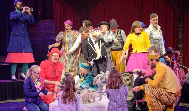 CliniClowns wil met de voorstelling afleiding en plezier bieden voor kinderen met een handicap.