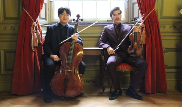 Ahmet Gür en Junya Nomura spelen beide in het Ensemble 1001 Nachten.