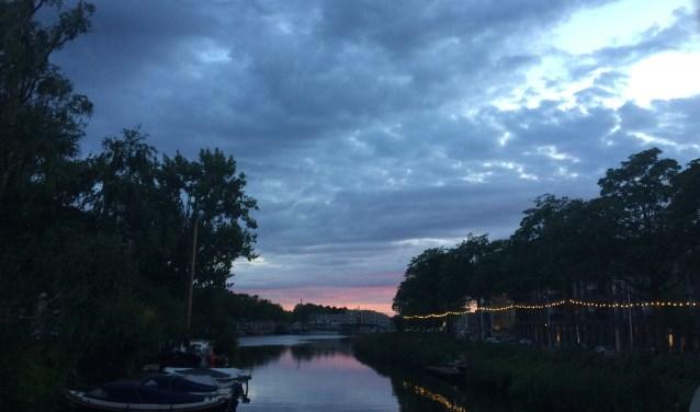 Joanne van Erve maakte deze foto in de Piushaven op 30 juli, de laatste dag van de kermis. Vlak na het maken van deze foto barstte het vuurwerk los.