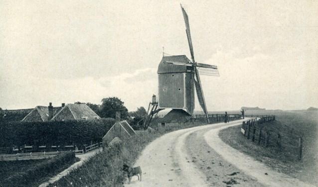 De windkorenmolen. (Foto: Historische Kring Bemmel)