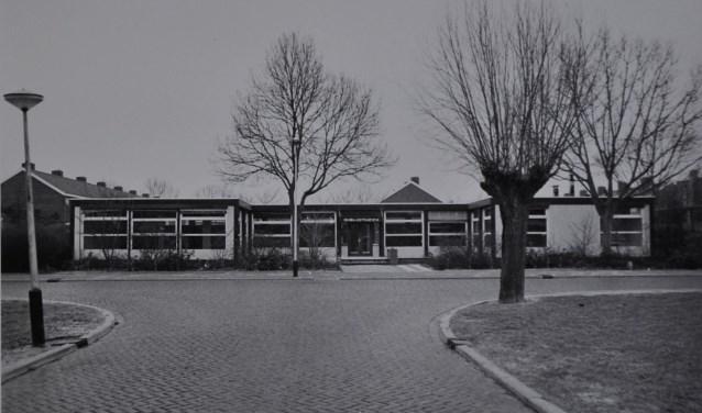 De bibliotheek aan de P.C. Hooftsingel.