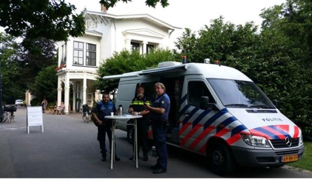 Pop up bus van de politie. Foto: PR