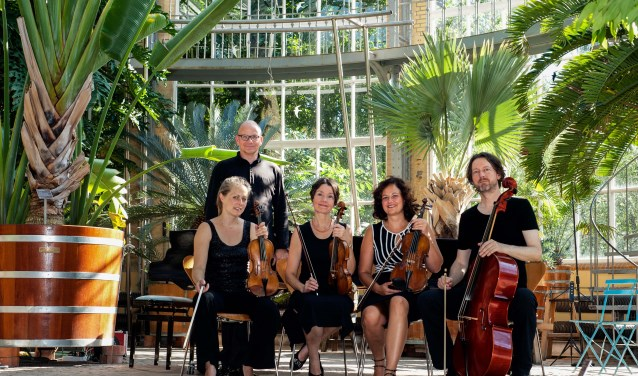 Het HortusEnsemble verzorgt op 26 augustus het slotconcert van het Hortus Festival. Foto: PR/Anne Meyer