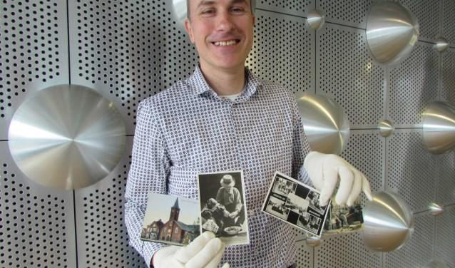 Henk van Tilburg is senior-collectiebeheerder bij Archief Eemland. (Foto: Adriënne Nijssen)