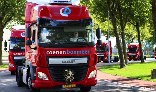 Truckrun Boxmeer trok zondag weer de straten in de regio. Foto: Marco van den Broek.