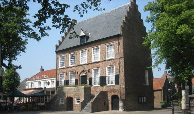 Het VVV kantoor in het Oude Raadhuis is met ingang van 9 september zeven dagen per week geopend tot eind oktober.