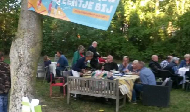 In Korendijk was begin september de buurtbarbecue op de Nieuwendijk.