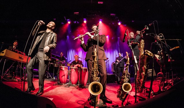 The New Cool Collective & Matt Bianco treden op tijdens de Jazznight. Foto: PR
