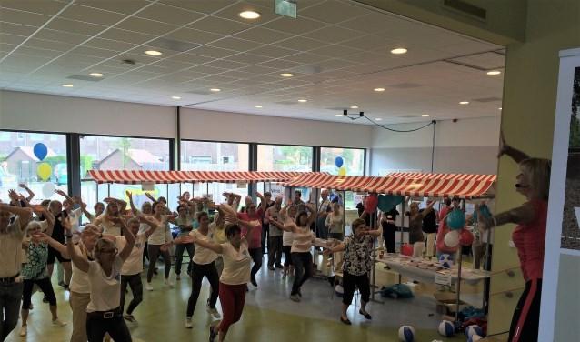 Lekker in beweging tijdens de Vivera Leefstijlmarkt. (Foto: Privé)