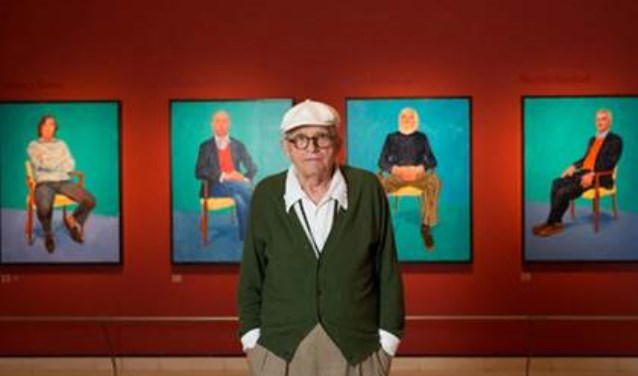 De eerste film in de filmreeks Exhibition on Screen gaat over 'David Hockney at the Royal Academy of Arts'