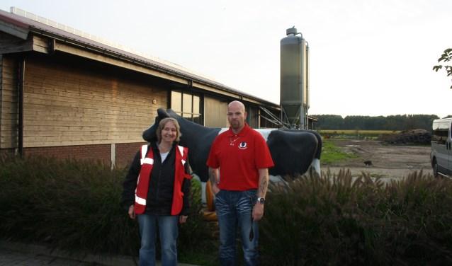 Ronald en Jose Kerver zijn vrijwilligers binnen Buurttoezicht Lansingerland. Hun wijkje is Parkzoom. Vorige week vierden ze het jubileumfeest.