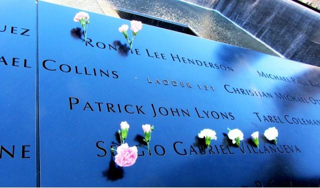 Memorial in verband met 9/11.