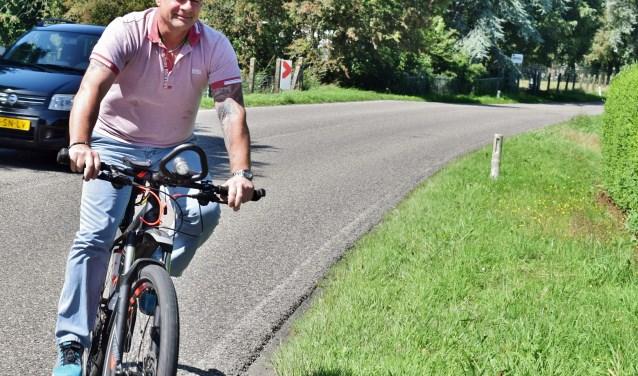 Ruud Been gaat voor het goede doel een fietstocht maken van 550 km.