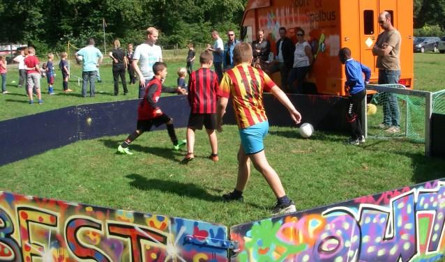 Zaterdag genoten de jeugdleden van V.V. Berkdijk van een geslaagde activiteitendag.