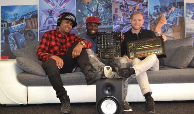 Amriish alle drie zijn te zien in het RTL programma 'van passie naar droombaan'