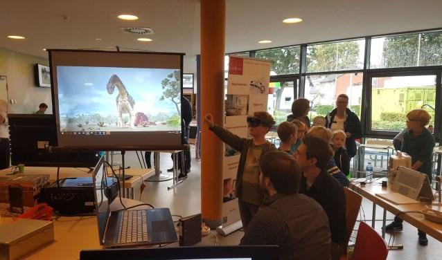 Op de stand van Hibernes konden jongeren kennismaken met de Techniek van de Toekomst. (Foto PR)