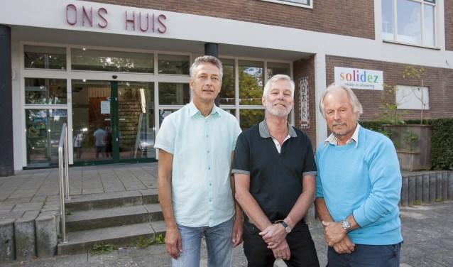 Jules de Kort, Rob Buré en Henk Laméris. (foto: Johan Mulder)