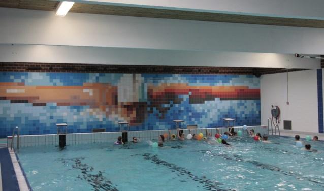 Het zwembad is 40 jaar oud en sterk verouderd. Foto: Eveline Zuurbier