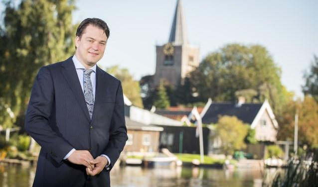 Jan Mark ten Hove is geïnstalleerd als burgerlid voor SGP Alblasserdam. (Foto: pr)