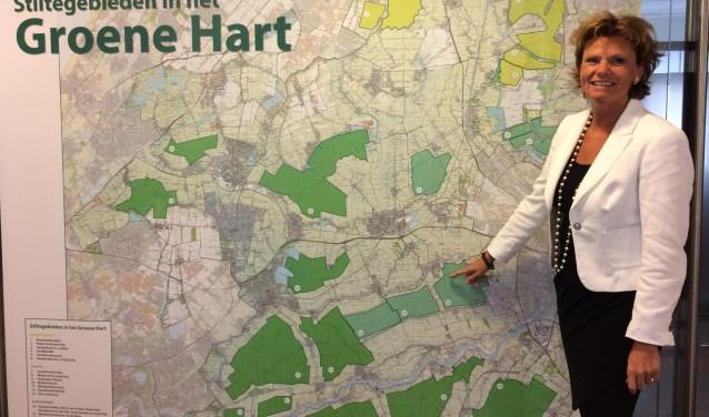 Burgemeester Petra van Hartskamp nodigt iedereen uit te komen kijken. (Foto: gemeente Montfoort)