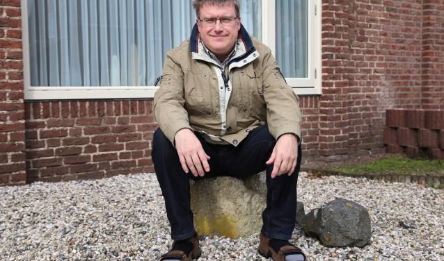 """Pastor Bas van Dijk: """"Ik wil hier in mijn nieuwe fase graag thuiskomen en daar ga ik voor."""" Foto: Marco van den Broek."""