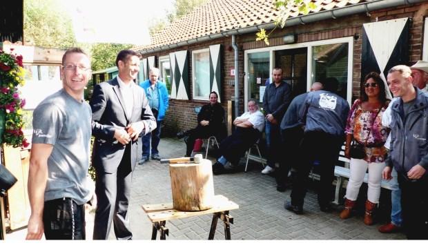 Opening Pameyer Klus en Werk in Spijkenisse