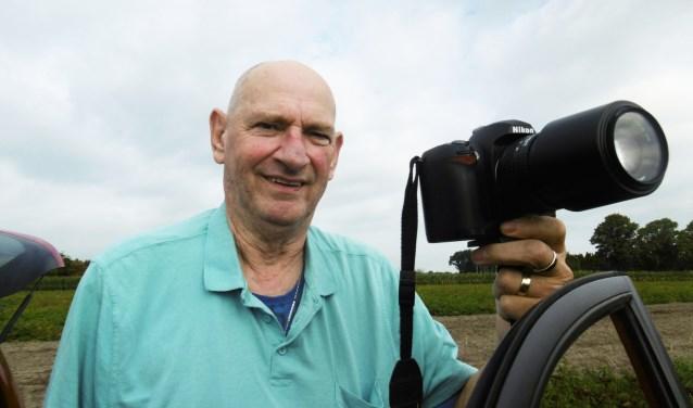 Jan Kirchner wil, ondanks zijn ziekte, gewoon lekker bezig blijven en genieten van het maken van foto's. (Foto: Dennis Kroonen).