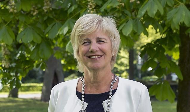 Burgemeester Agnes Schaap