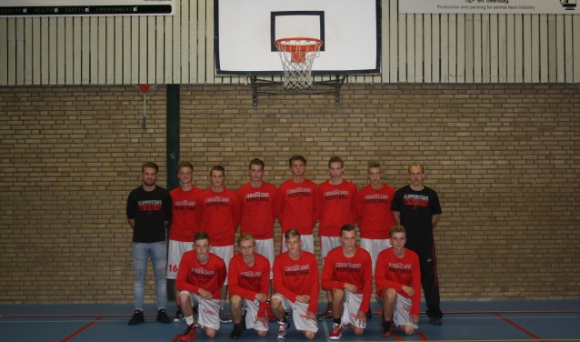 Het U20 team van Klipperstars verliest van het Groningse Donar. (Foto: pr)