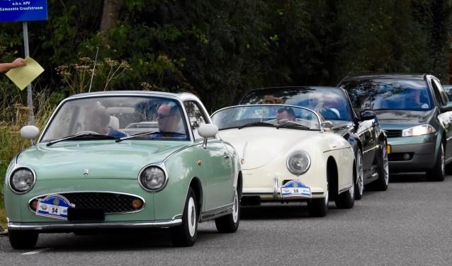 Deelnemen kan met een gewone auto of een classic car.