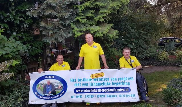 Stichting Adrie's Dijkenloop Gehandicapten houdt ook dit jaar weer een sponsoractie rond de Maas en Waalse DijkenSport.nl.