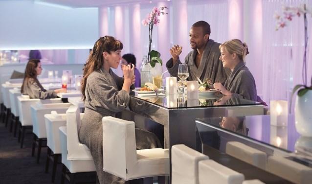 'Ons diner was zo gespannen dat we na het eten alle rust die we in ons hadden van het dagje genieten al kwijt waren'.  Foto: Elysium