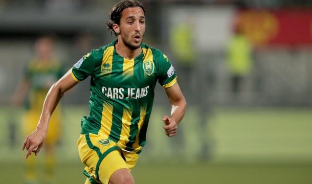 Nasser El Khayati zorgde tegen Willem II met twee goals voor de eerste zege van het seizoen. Foto: Laurens Lindhout
