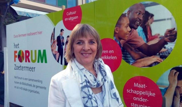 """Joke Mos: """"Het Forum is een uniek concept voor Nederland."""" Foto: PR"""