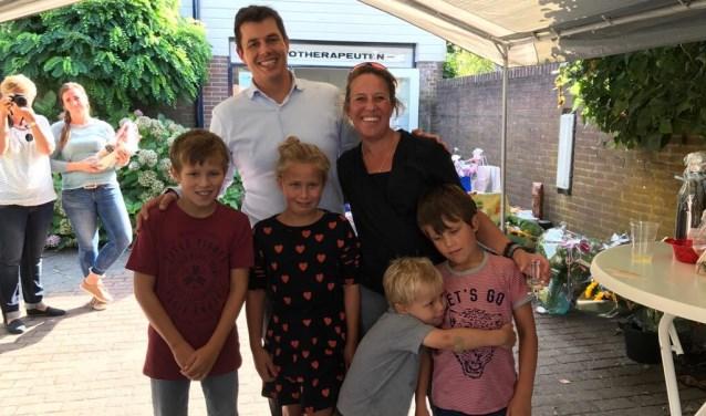 Dr. N.J.(Natanja) van Doorm en haar gezin.